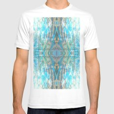 FX#2 - Tranquility Mens Fitted Tee MEDIUM White