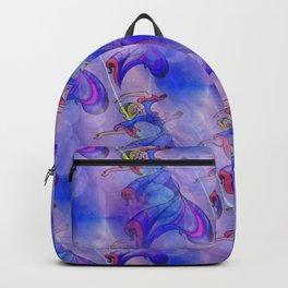 discopatttern blue -1a- Backpack