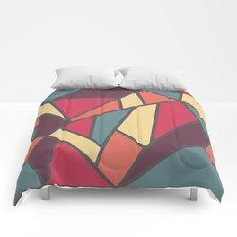 Geometric Colour Pattern V1 Comforters
