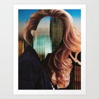 sin city Art Prints featuring Sin City by Imogen Art