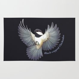 Black-capped Chickadee Rug
