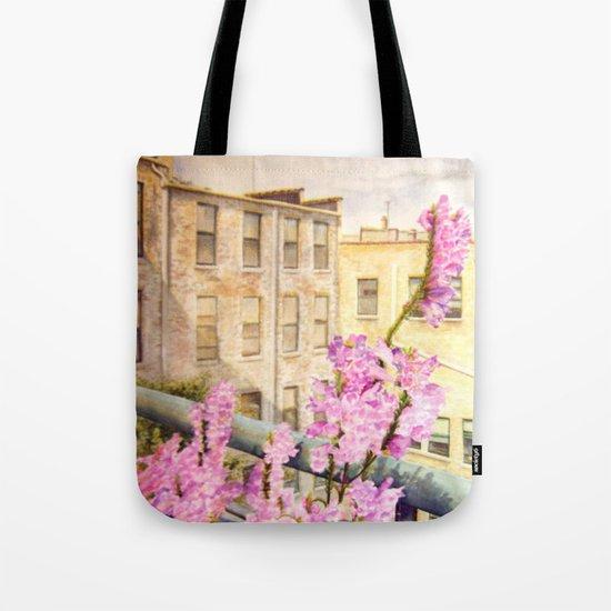 Urban Beauty Tote Bag