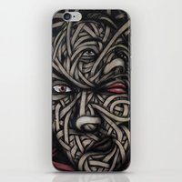 faces iPhone & iPod Skins featuring Faces by Suave-O