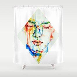 Lacrime d'arcobaleno Shower Curtain