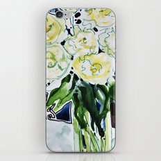 Roses Blanches iPhone & iPod Skin