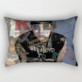 Mac Miller Art Rectangular Pillow