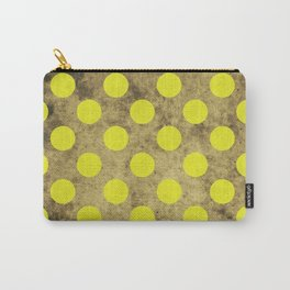 Green Dots Pattern Carry-All Pouch