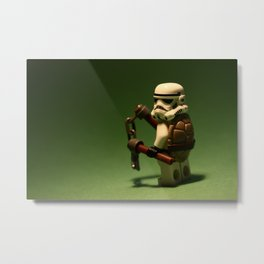 Teenage Mutant Ninja Trooper Metal Print