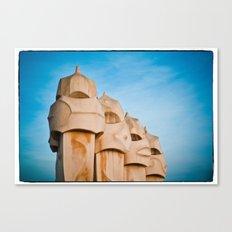 Gaudi - Barcelona, Spain Canvas Print