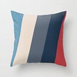 Frigid Slopes Throw Pillow