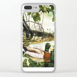 Mallards on the St. Joseph River Clear iPhone Case