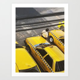 Everything Is Yellow Art Print