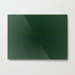MacDonald of the Isles Tartan Metal Print