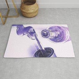 Purple Polish Rug