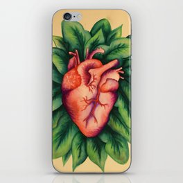 Floral Heart iPhone Skin