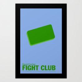 Fight Club | Minimalist Movie Posters Art Print