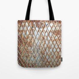 Rusty Grate Tote Bag