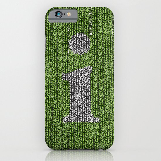 Winter clothes II. Letter i. iPhone & iPod Case