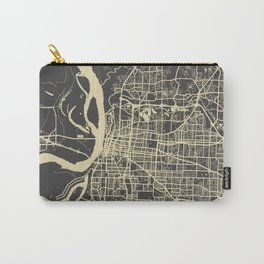 Memphis map yellow Carry-All Pouch