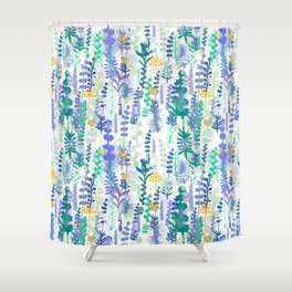 Aromatic herbs Shower Curtain