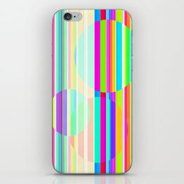 Re-Created Intersection V by Robert S. Lee iPhone Skin