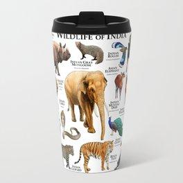 Wildlife of India Travel Mug