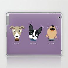Three wise dogs Laptop & iPad Skin