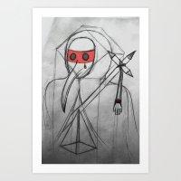 Death's Architect Art Print