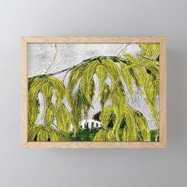 Winery Framed Mini Art Print