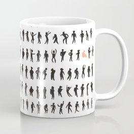 Character silhouettes Coffee Mug