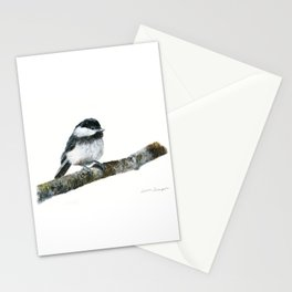 Black-capped Chickadee by Teresa Thompson Stationery Cards