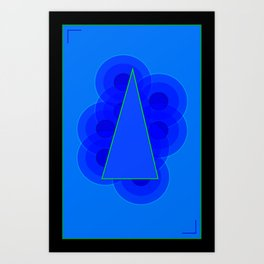 Geomo Poster 3 Art Print