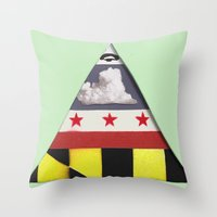 maryland Throw Pillows featuring Maryland by Jason Douglas Griffin