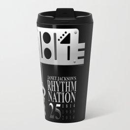Rhythm Nation's 25th anniversary Travel Mug