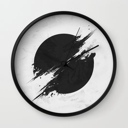 The Sun Is Black Wall Clock