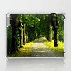 Summer Lane Laptop & iPad Skin