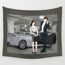 the gift that keeps on giving Wall Tapestry