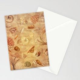 Sea shells wonder 1 Stationery Cards