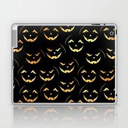 Scary jack-o-lantern Laptop & iPad Skin