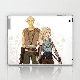 Elven mages Laptop & iPad Skin