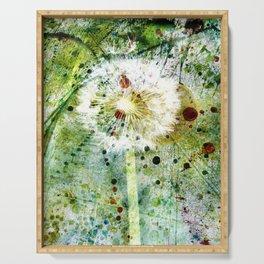 Springtime dandelion Serving Tray