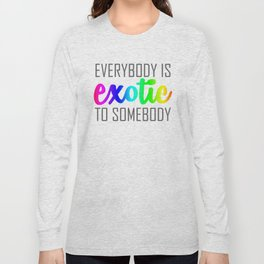 Exotic-rainbow Long Sleeve T-shirt