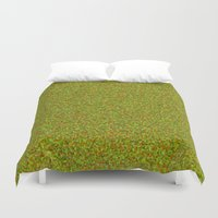 camo Duvet Covers featuring camo by ecceGRECO
