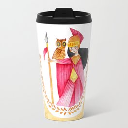 Athena and Her Companion Travel Mug