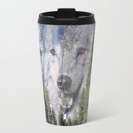 Wolf Mountain Travel Mug