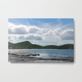 cotton candy skies I Metal Print