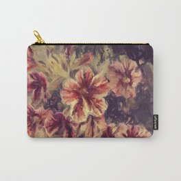 The Painted Flower Carry-All Pouch
