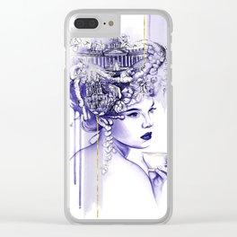 Miss Saint Petersburg Clear iPhone Case