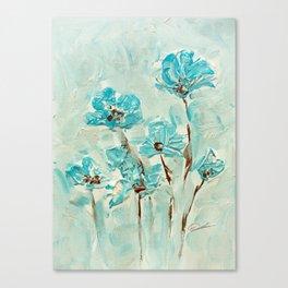 Flowers(vintage) Canvas Print