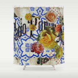Fado Portuguese Shower Curtain